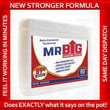 Mr BIG Penis Enlargement Pills 60 Capsules Thicker, Longer, Wider Bigger Penis
