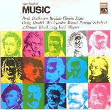 EMI HMV UK Your Kind of Music BEETHOVEN JS Bach BRAHMS Mozart ELGAR Verdi YKMS1
