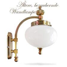 """Wandlampe Orion """"Wiener Nostalgie"""" Metall Glas goldfarben Jugendstil"""