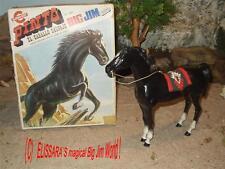BIG JIM - Karl May - Pferd - Pinto + OVP ! Barbie - Horse+ box / Congost 7383