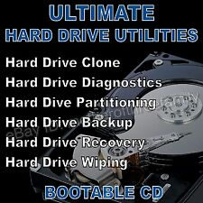 ULTIMATE DISK UTILITIES -  PARTITION EDITOR - HARD DRIVE IMAGE BACKUP