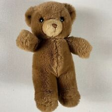 "GUND Plush Bear VTG 1983 Stuffed Animal Brown Toy Cuddly Kids 9"" Small Teddy 80s"