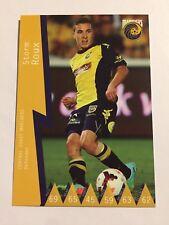 2014-15 Hyundai A League Soccer Card Central Coast Mariners Storm Roux