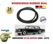 FOR MERCEDES W108 S CLASS 1965-1972 NEW FRONT WINDSCREEN WINDOW RUBBER SEAL