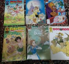 Disney Talespin Comic Lot of 8, Beauty and the Beast #1, Peter Pan #1