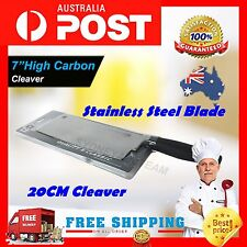 Stainless Steel 33cm MIRACLE Chef MeatBone Cleaver Chopper Butcher kitchen Knife