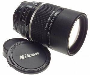 AF DC-NIKKOR NIKON 135mm F2 DEFOCUS IMAGE CONTROL 2/135mm SLR FILM CAMERA LENS