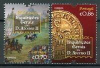 Portugal Royalty Stamps 2020 MNH General Inquiries of D. Afonso II People 2v Set