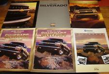 Original 1999 2000 2001 Chevrolet Silverado Sales Brochure Lot of 6 Chevy
