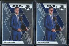 2019-2020 Panini Mosaic Stephen Curry Mvps Lot x 2