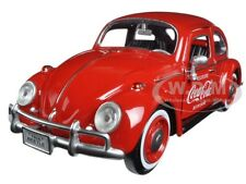 "1966 VOLKSWAGEN BEETLE ""COCA COLA WITH REAR RACK 1:24 MOTORCITY CLASSICS 424067"
