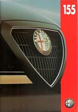 ALFA ROMEO 155 1.8 & 2.0 T.SPARK / 2.5 V6 / CLOVERLEAF 4 1994 UK SALES BROCHURE