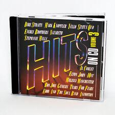 Hits on CD Vol. 3-Dire Straits, Nazareth, Bon Jovi, Genesis-Music CD Album