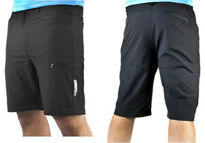 Mens Bicycle Commuter Cargo Shorts Exercise Casual Short  Recumbent Short