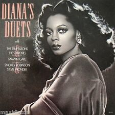LP - Diana Ross - Diana's Duets (MOTOWN SOUL) SPANISH ISSUE 1982 NEW - NUEVO