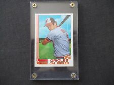 1982 Topps #98T Cal Ripken Jr. Rookie Card Baltimore Orioles HOFer EX SHARP!!!!