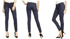 JUICY COUTURE SKINNY MONOGRAM JEANS size 25 $158 NEW