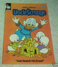 Walt Disney's Uncle Scrooge 196,NM- (9.2) Land Beneath the Ground! 50% off Guide
