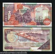 SOMALIA 1,000 1000 SHILLING P37 1990 SHIP PORT UNC CURRENCY MONEY BILL BANK NOTE