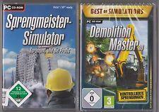Demolition Master 3d + sprengmeister simulador colección juegos PC