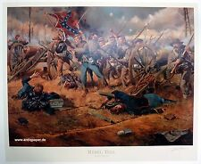 Troiani don Rebel Yell civil era Historical tipo Print Limited Edition 1864