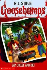 Say Cheese and Die! (Goosebumps) by R. L. Stine, Good Book