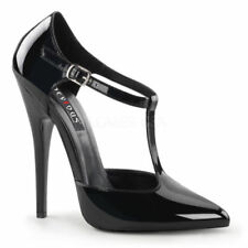 44 Scarpe da donna nera con fibbia
