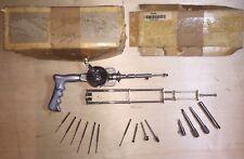 Vintage Orthopedic Surgical Bone Drill Open Gear 1968 MESTEKOVA CHIRANA NIKL 65