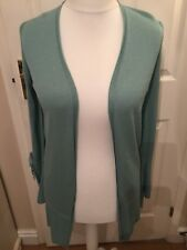 Long Line Cardigan ,Small, M&S Collection Pale Jade BNWT