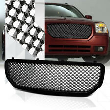 Glossy Black ABS 3D Wave Mesh Front Bumper Grille/Grill for 05-08 Dodge Magnum