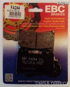 EBC Organic FRONT Disc Brake Pads (1 Set) Fits URAL with Sidecar (2011 to 2012)