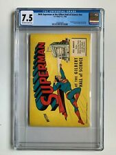WITH SUPERMAN AT THE GILBERT HALL OF SCIENCE, CGC 7.5 grade, 1948, with ad