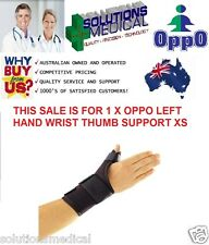 WRIST THUMB CARE AND SUPPORT BRACE NEOPRENE OPPO XS LEFT HAND X1