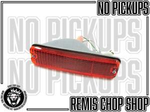 Right Indicator Light Lens for Daihatsu Charade CX NOS Parts -B9 Remis Chop Shop