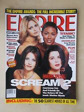 EMPIRE FILM MAGAZINE No 107 MAY 1998 SCREAM 2 - TITANIC
