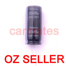 Capacitor 150uf 450V 105°C  18X40mm for DELL LCD Monitor Screen Rubycon Sydney