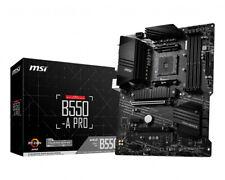 MSI AMD B550 Pro Socket AM4 ATX DDR4-SDRAM Motherboard