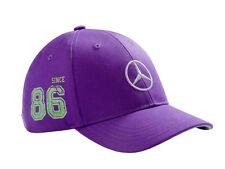 "origi Mercedes Benz Base cap Mütze Muetze Kids Kinder Mädchen Girls lila  ""86"""