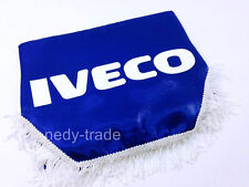 IVECO Window Shield Pelmet Curtains Windscreen Truck Lorry Logo Emblem Blue