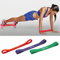3 SET Heavy Duty POWER YOGA RESISTANCE BANDS LOOP Fitness Gym Exercise Workout