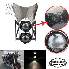 E-marked Streetfighter Headlight Assembly W/ Windscreen Fit Sachs madass 50 125
