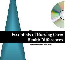 105 589 HEALTH DIFFERENCES Study Guide & Audio Review Excelsior College Exam