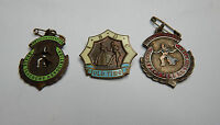 2 Northern Counties Dance teachers assoc badges and an I.S.D.C Old time badge