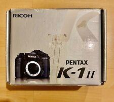 PENTAX K1 II DSLR CAMERA BODY ONLY NEW OPEN BOX