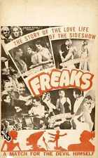 Freaks Poster 02 Metal Sign A4 12x8 Aluminium