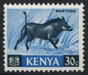 Kenya 1966-71 SG#24, 30c Definitive Warthog MNH Chalk Paper #D11174