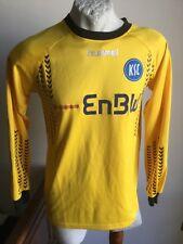 Maglia calcio hummel karlsruher goalkeeper enbw football shirt trikot size L