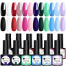 UR SUGAR 12 Bottles 7.5ml Nail UV Gel Polish Soak off UV Gel Basic Color Kit