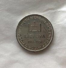 Lithuania 10 Litu 1938 Smetona