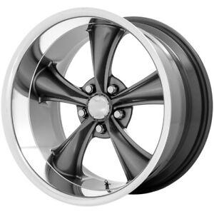 "American Racing VN338 Boss 18x9.5 5x4.75"" -4mm Gunmetal Wheel Rim 18"" Inch"